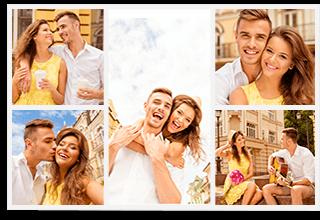 5 Panoramic Photo Collage