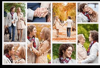 8 Panoramic Photo Collage
