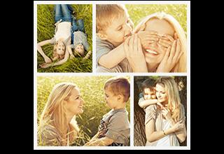 4 Square Photo Collage