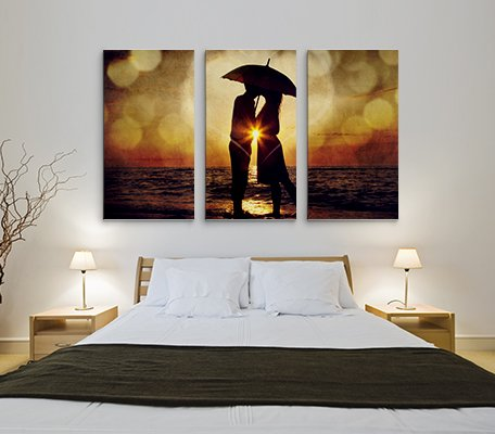 Canvas Print BedRoom