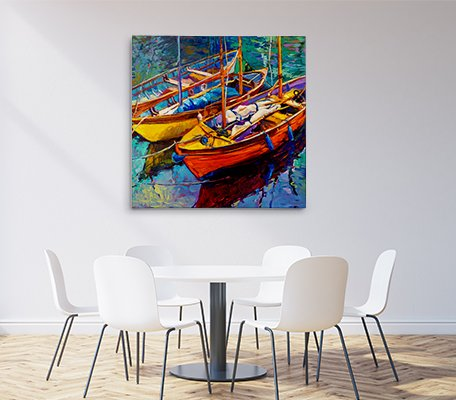 Canvas Print Office