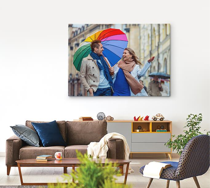 Single Small and Single Large Canvas Prints