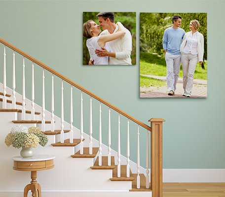Canvas Print Staircase