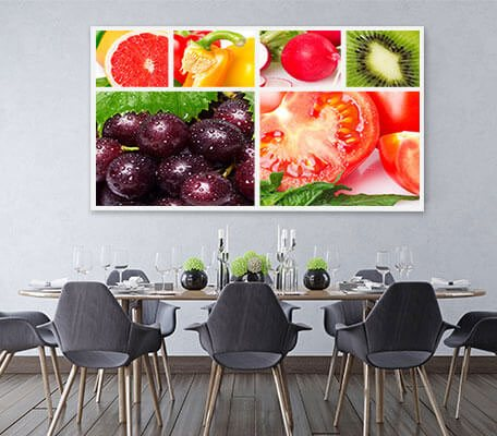 canvas photo collage