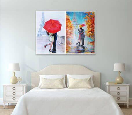 photo collage canvas prints online