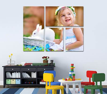 Tryptich Photo Canvas
