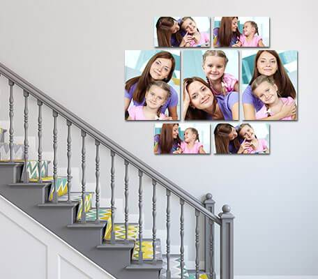 Canvas Photo Wall Displays